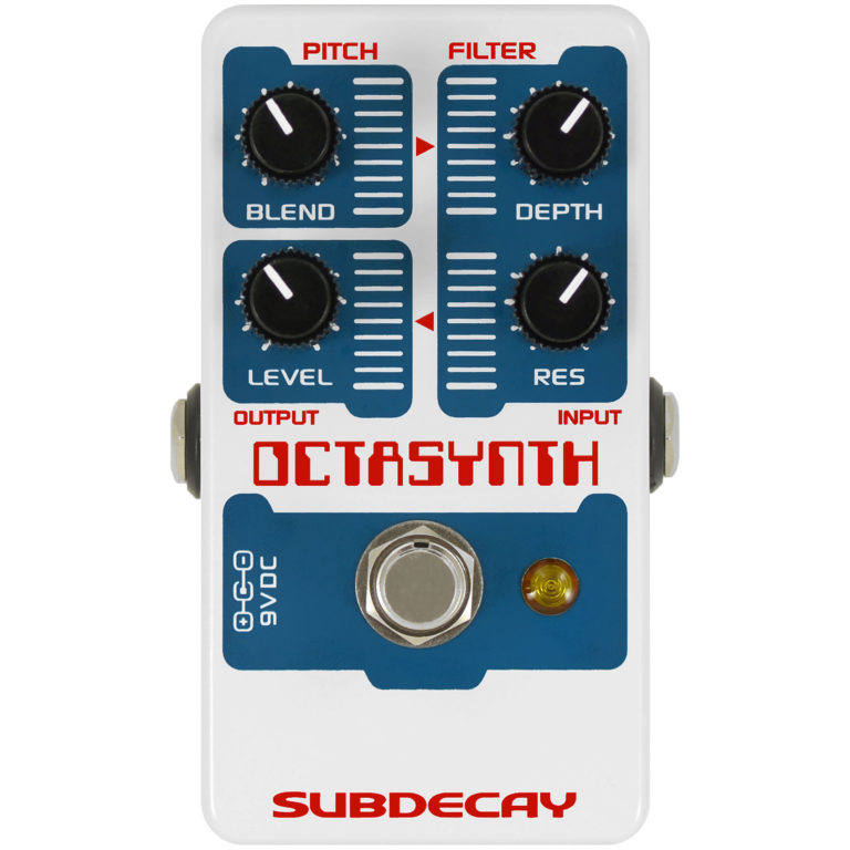 subdecay octasynth front