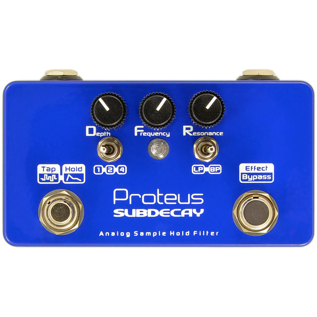 proteus sample hold front