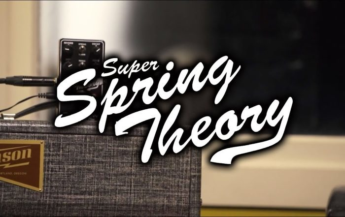 tony lindgren spring theory reverb demo