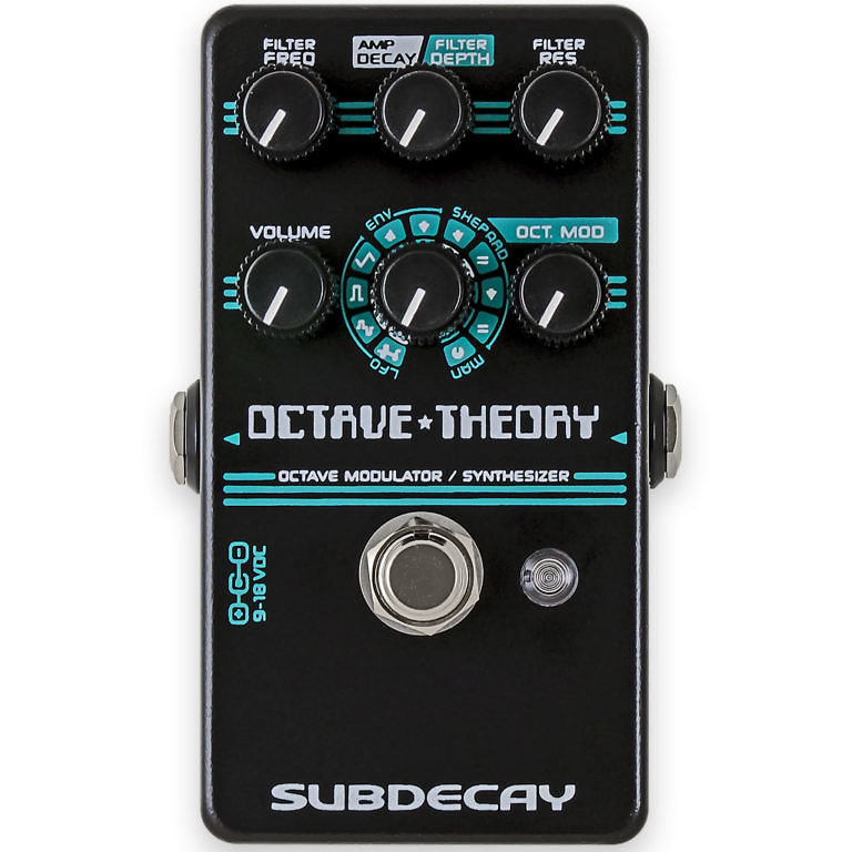octave theory guitar synth black